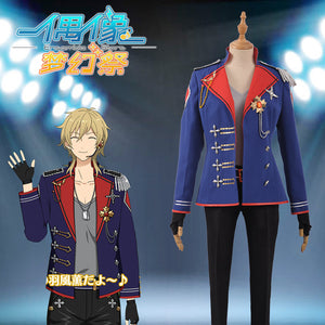 Ensemble Stars ES Undead Hakaze Kaoru Uniform Cosplay Costume Outfit