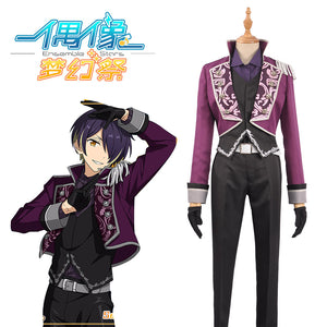 Ensemble Stars Music Strongest Shinobu Sengoku Cosplay Costume Stage Jacket Pants Gloves Men Outfit