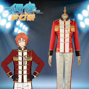 "Ensemble Stars Unit ""Knights"" Tsukinaga Leo Stage Cosplay Costume Custom Made for Boys Adult Men Outfit Carnival Halloween"