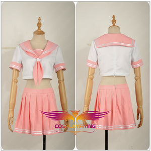 FATE/Apocrypha Astolfo Girls Dress Sailor Suit Uniform Cosplay Costume Clothing Outfit