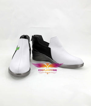 FPS Game OW Overwatch D.Va Cosplay Shoes Boots Custom Made for Adult Men and Women Halloween Carnival Version B