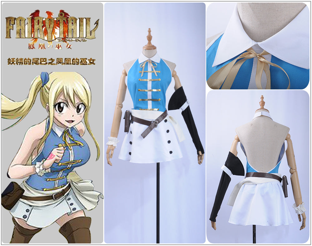 Fairy Tail Lucy Heartfilia Cosplay Costume Dress