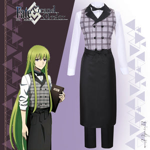 Fate Grand Order X Sweets Paradise Kingu Cosplay Costume Halloween Carnival