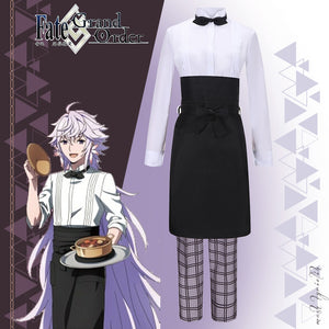 Fate Grand Order X Sweets Paradise Merlin Cosplay Costume Halloween Carnival