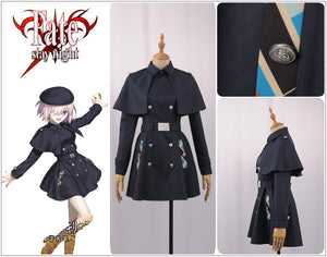 Fate/Grand Order FGO Shielder Matthew Kyrielite Women Halloween Uniform Outfit Cosplay Costume