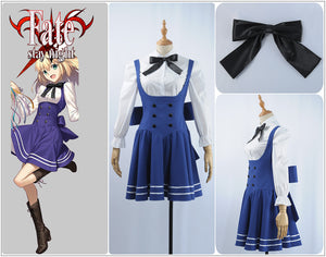 Fate/Grand Order Fes2019 Arutoria Pendoragon Cosplay Costume for Adult Women