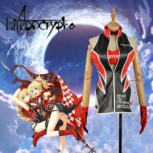 Fate/apocrypha FA Racing Wear Joan Of Arc Mordred Sexy Suit Girls Uniform Cosplay Costume