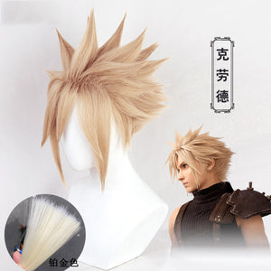 Final Fantasy VII Remake Cloud Strife Cosplay Wig Cosplay for Halloween Carnival