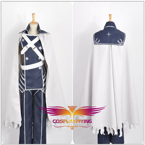 Fire Emblem Awakening Chrome Battleframe Uniform Cosplay Costume Adult Men White Long Cloak