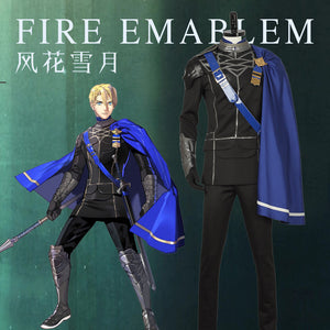 Fire Emblem: Three Houses Dimitri Alexandre Blaiddyd Cosplay Costume Male Stage Uniform Carnival Custom Made
