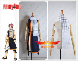 Fairy Tail Natsu Dragneel Scarf Only For Cosplay Costume 150cm Length One Size In Stock Gift For Boyfriend