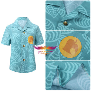 Game Animal Crossing: New Horizons Timmy/Tommy Printed T-shirt Adult Summer Shirt