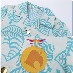 Game Animal Crossing: New Horizons Tom Nook Printed T-shirt Adult Summer Shirt
