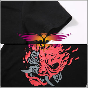 Game Cyberpunk 2077 V Black T-shirt Unisex Summer Shirt Men Women Costume Tops