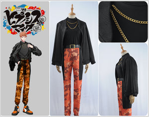Game Division Rap Battle Hypnosis Mic Mad Trigger Crew Busujima Mason Rio New Cosplay Costume