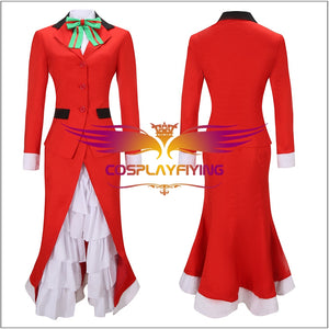 Game Fate Grand Order FGO Nightingale Christmas Cosplay Costume Halloween Carnival Party