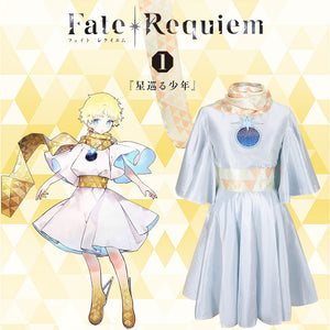 Game Fate Grand Order FGO Voyager Le Petit Prince First Stage Cosplay Costume Halloween Carnival Party