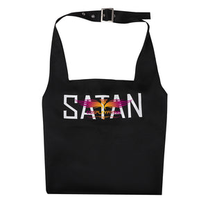 Game Helltaker Satan Apron Cosplay Costume Halloween Carnival Party