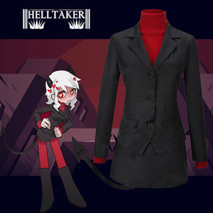 Game Helltaker the Lustful Demon Modeus Cosplay Costume Custom Made Halloween Carnival Party