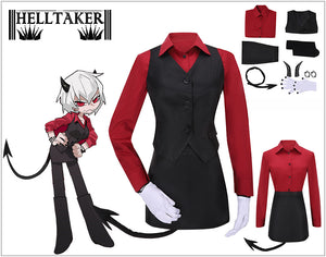 Game Helltaker the Sour Demon Malina Cosplay Costume Custom Made Halloween Carnival Party