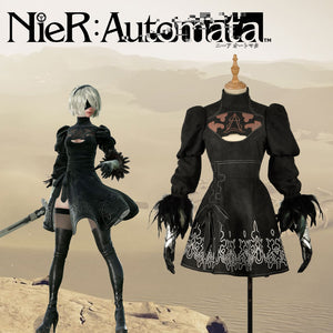 Game NieR:Automata YoRHa No.2 Type B Heroine Cosplay Costume Adult Carnival Halloween