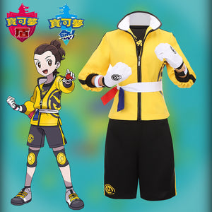 Game Pokemon Sword/Shield Isle of Armor Cosplay Costume Halloween Carnival Party