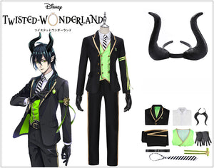 Game Twisted-Wonderland Sleeping Beauty Diasomnia Malleus Draconia Cosplay Costume Uniform Outfit