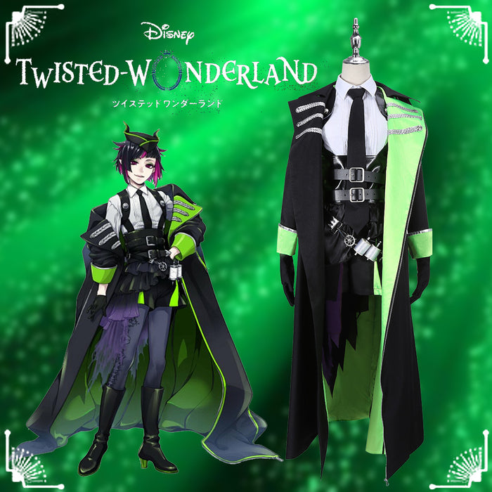Game Twisted-Wonderland Sleeping Beauty Lilia Vanrouge Cosplay Costume Male Uniform Outfit