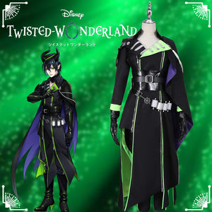Game Twisted-Wonderland Sleeping Beauty Malleus Draconia Cosplay Costume Male Uniform Outfit