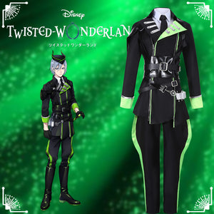 Game Twisted-Wonderland Sleeping Beauty Silver Cosplay Costume Male Uniform Outfit