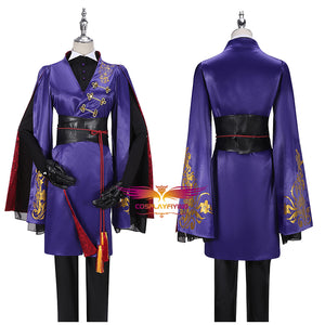 Game Twisted-Wonderland Snow Princess Rook Hunt Cosplay Costume Fancy Uniform Outfit