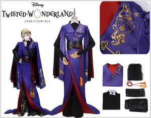 Game Twisted-Wonderland Snow Princess Vil Schoenheit Cosplay Costume Fancy Male Uniform Outfit