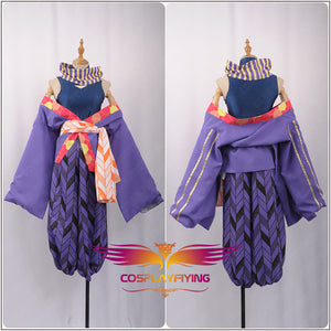 Game A3! Act!Addict!Actors! Summer Troupe Ikaruga Misumi Kimono Cosplay Costume for Carnival Halloween