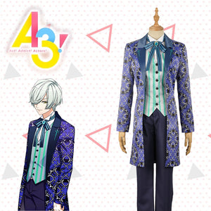 Game A3! Act!Addict!Actors! Winter Troupe Mikage Hisoka Uniform Male Cosplay Costume Custom Made for Adult Men Carnival Halloween