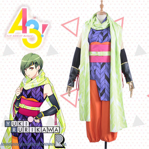 Game A3 Rurikawa Yuki Cosplay Costume Full Set Adult Male Outfit