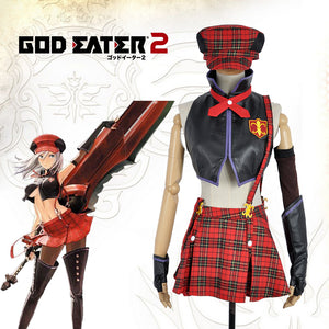 Game Anime Gods God Eater Burst Alisa Illinichina Amiella Cosplay Costume Carnival Halloween