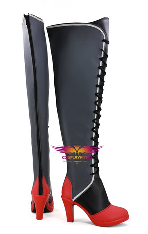 Game Azur Lane SR Colorado Cosplay Shoes Boots Custom Made for Adult Men and Women Halloween Carnival