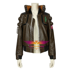 Game Cyberpunk 2077 V the Female Player Cosplay Costume Full Set for Halloween Carnival
