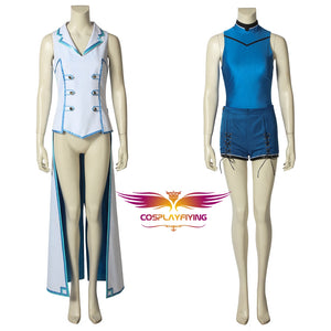 Game DEAD OR ALIVE 6 Nico Uniform Dress Cosplay Costume for Halloween Carnival