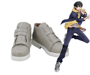 Game DRB Division Rap Battle Hypnosis Mic Yamada Saburo Cosplay Shoes Boots Custom Made for Adult Men and Women Halloween Carnival