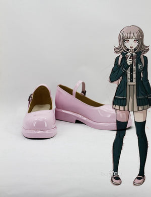 Game Danganronpa 2 Chiaki Nanami Cosplay Shoes Boots Custom Made for Adult Men and Women Halloween Carnival