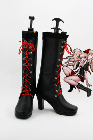Game Danganronpa 2 Enoshima Junko Cosplay Shoes Boots Custom Made for Adult Men and Women Halloween Carnival