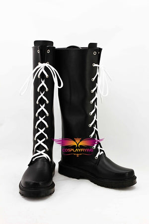 Game Danganronpa 2 Kiyotaka Ishimaru Cosplay Shoes Boots Custom Made for Adult Men and Women Halloween Carnival