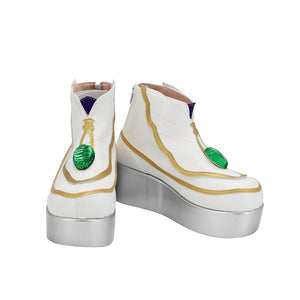 Game FGO Fate/Grand Order Caster Leonardo da Vinci Cosplay Shoes Boots Custom Made for Adult Men and Women Halloween Carnival