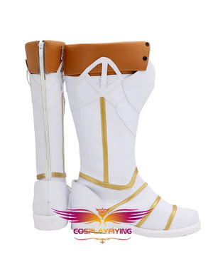 Game FGO Fate/Grand Order Sir Gareth Cosplay Shoes Boots Custom Made for Adult Men and Women Halloween Carnival