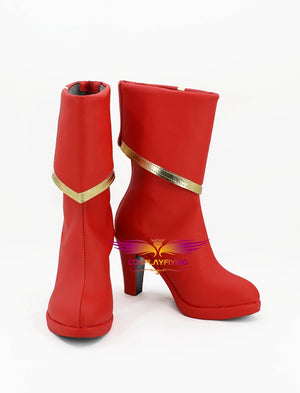 Game Fate/Grand Order Mordred Cosplay Shoes Boots Custom Made for Adult Men and Women Halloween Carnival