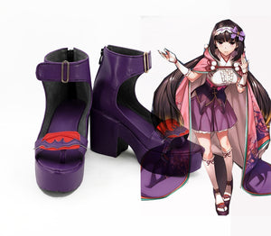 Game Fate/Grand Order Osakabehime Cosplay Shoes Boots Custom Made for Adult Men and Women Halloween Carnival