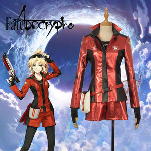 Game Fate Stay Night Grand Order FGO 4th Anniversary Mordred Cosplay Costume Outfit Halloween Carnival Custom Made