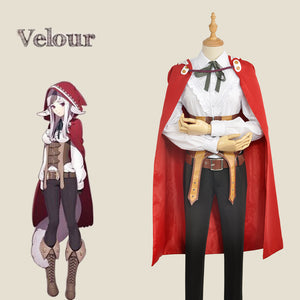 Game Fire Emblem Fates Velouria Velour Fancy Lovely Cosplay Costume for Carnival Halloween