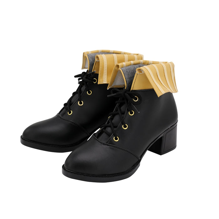 Game Girls' Frontline Desert Eagle 357 Cosplay Shoes Boots Custom Made Adult Men Women Halloween Carnival